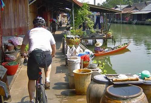 دوچرخه سواری در بانکوک