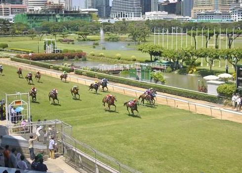 مسابقات اسب دوانی در بانکوک