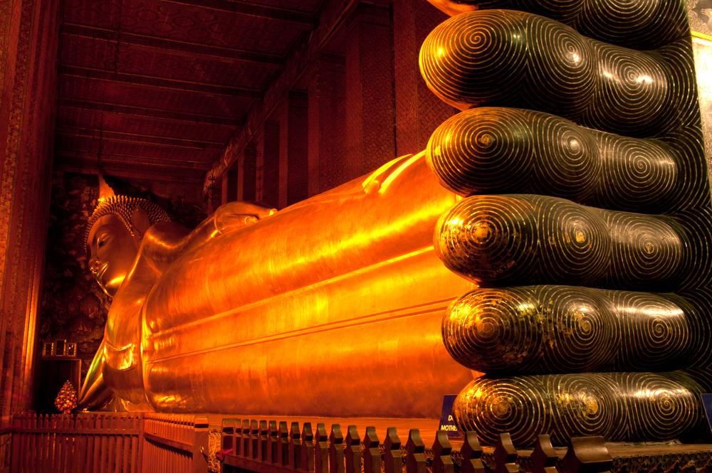 معبد بودای خوابیده در بانکوک